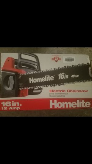 """Homelite 16"""" 40cm Electrical Chainsaw for Sale in Heathrow, FL"""