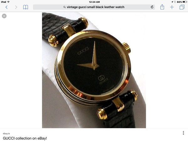 6a498590733 100% AUTHENTIC -Vintage Gucci -Ladies Watch GG....Pick up or Pay  5  shipping. Offer up guarantees purchases