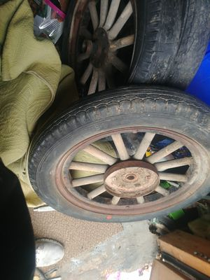 Wood spoke wheels . Make offer for Sale in Salt Lake City, UT
