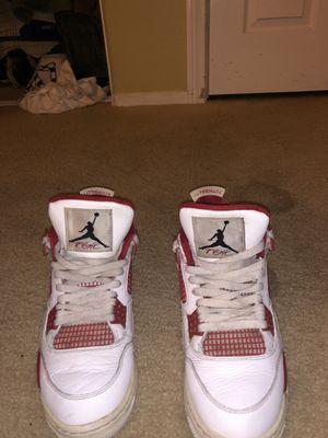 7c3fcf2247c2 Red   White Jordan 4 Retro s for Sale in Palmdale