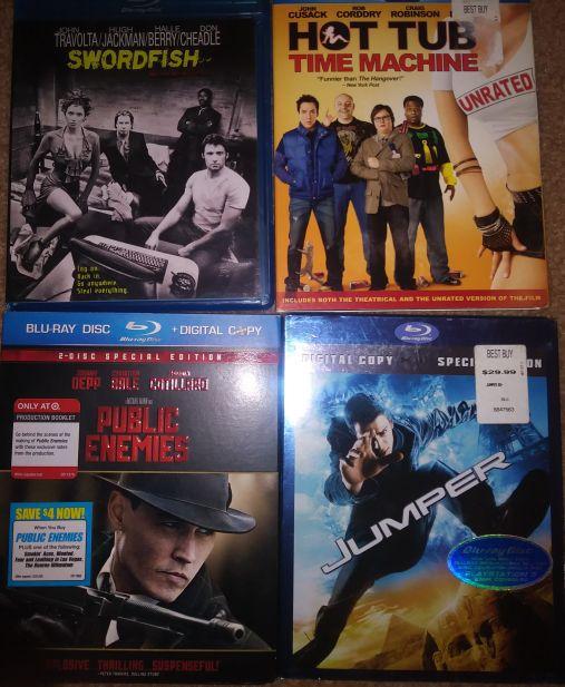 Blu-ray Movies $3 each