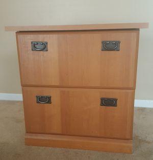 Solid Oak File Cabinet For In Atlanta Ga