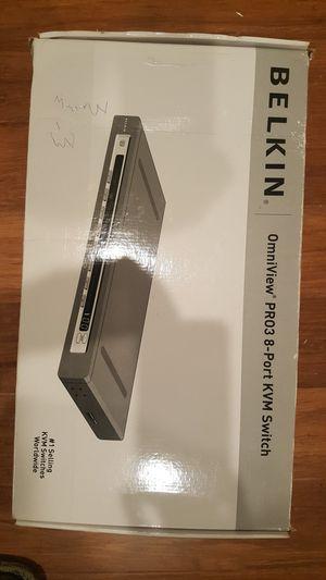 Belkin Omniview PRO3 8 Port KVM Switch for Sale in Columbia, MD