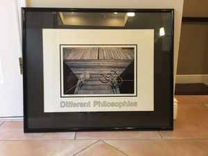 Framed & Signed Photograph by FAMOUS Photographer for Sale in Miami, FL