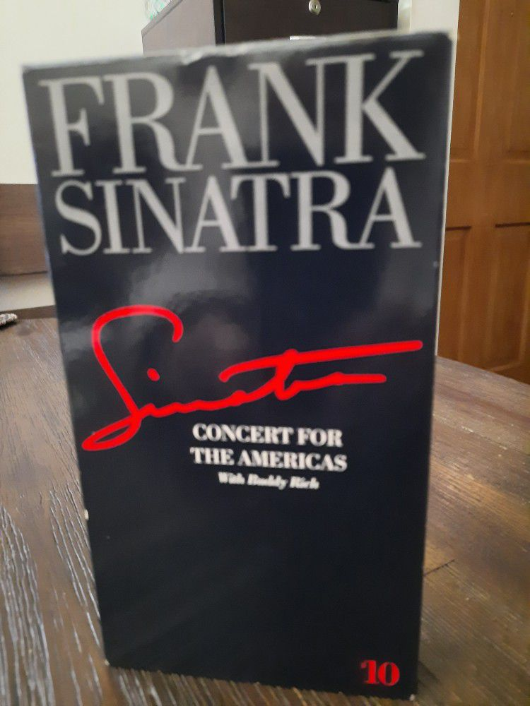 JUST REDUCED  - Frank Sinatra Concert For The Americas
