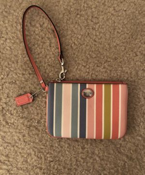 20316bd8c627 Authentic Coach Wristlet for Sale in Reston