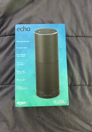 Amazon Echo for sale! Brand new for Sale in Merrifield, VA