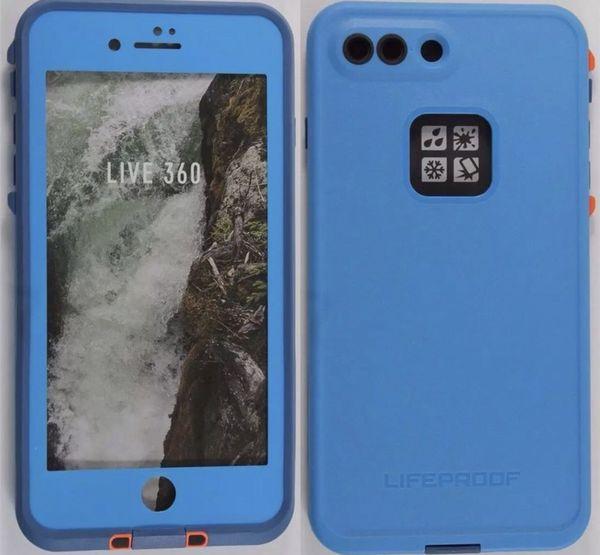 best service b0d7e b7622 Brand new Original LIFEPROOF FRĒ Waterproof Case Base Camp Blue for iPhone  7+ Plus for Sale in West Jordan, UT - OfferUp