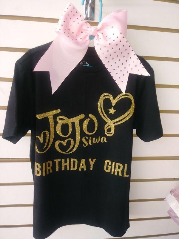 JoJo Siwa Bday Shirt And Bow 15