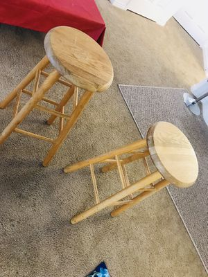 Wooden stool for Sale in Salt Lake City, UT