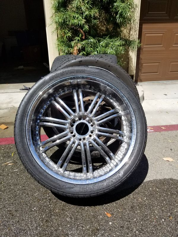 A Set Of 24 Inch Rims For Sale In Orange Ca Offerup