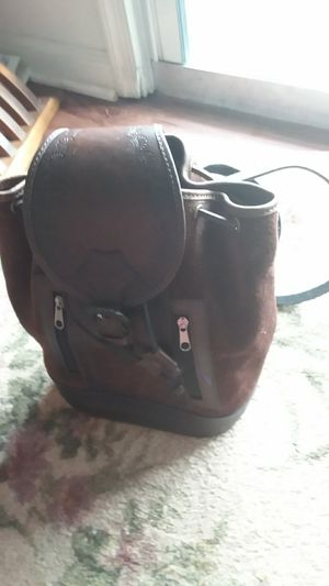 All leather backpack purse for Sale in Sudley Springs, VA