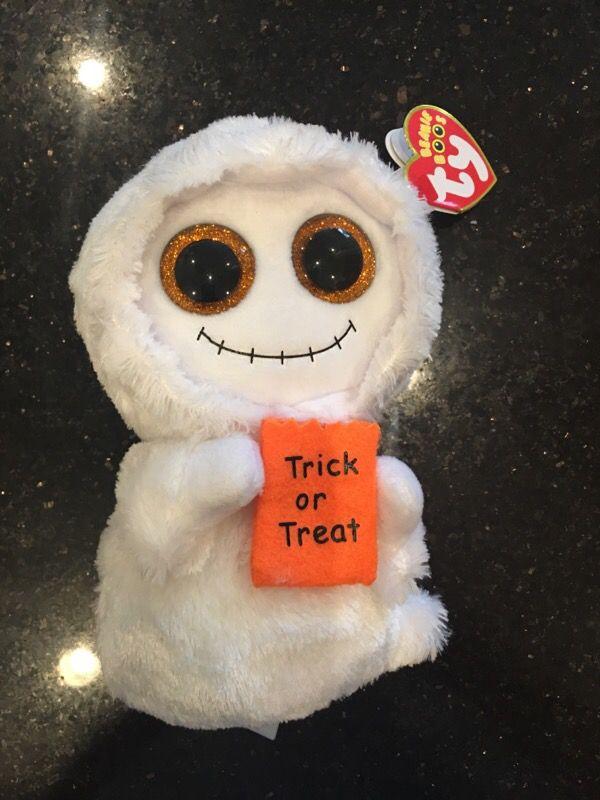 TY beanie baby Halloween trick-or-treat doll Limited seasonal rare