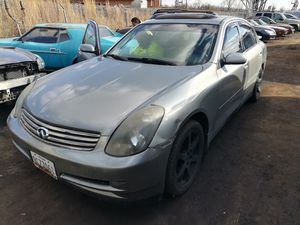 2004 Infiniti g35 parts only for Sale in Hyattsville, MD