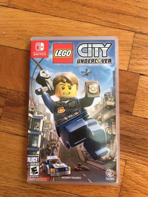 Lego City Undercover for Nintendo Switch for Sale in Tacoma, WA