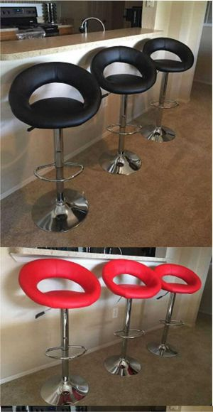 Set of bar stools brand new!!! Chairs sillas cadeiras price for set for Sale in Orlando, FL
