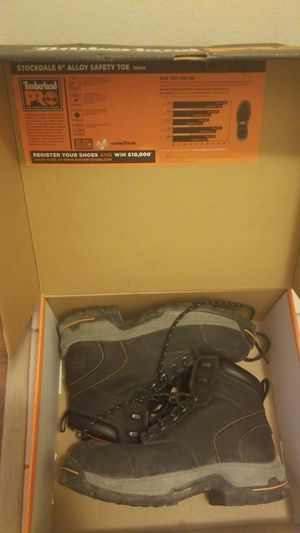 Timberland steel toe boots for Sale in Chicago, IL