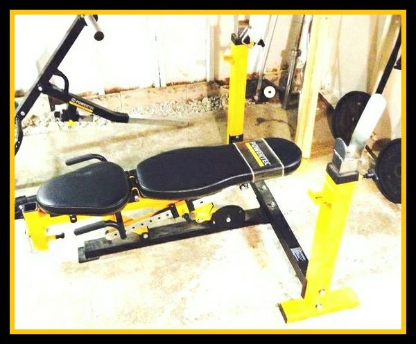 weight exercise equipment multisystem fitness workbench bench powertec