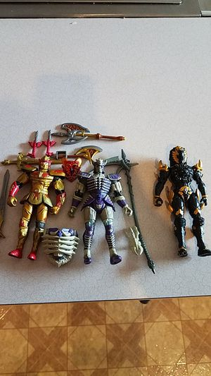 Photo Mystic Knights of Tir and Jungle Fury Power Ranger