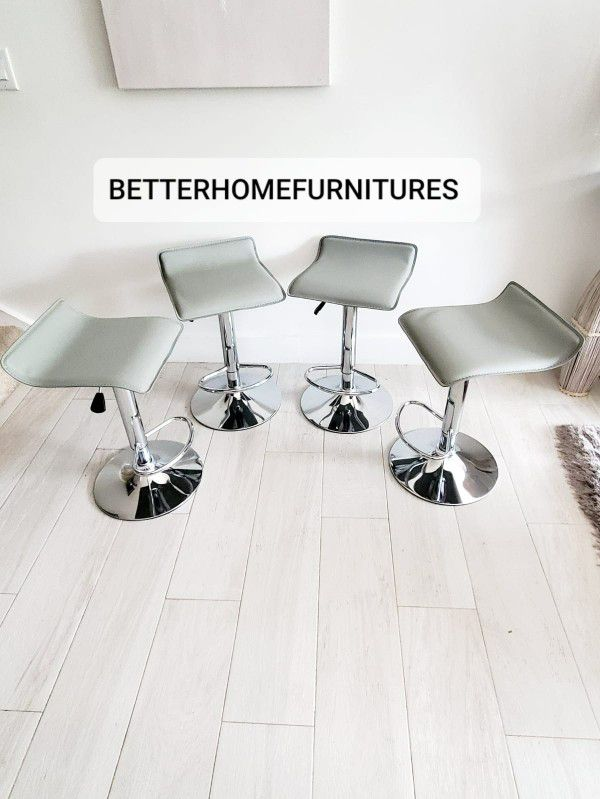 Modern Adjustable Barstools, Bar Stools, Barstool, Bar Stool In Box(Grey,Black, Red,Brown And white Available) $75 Each.