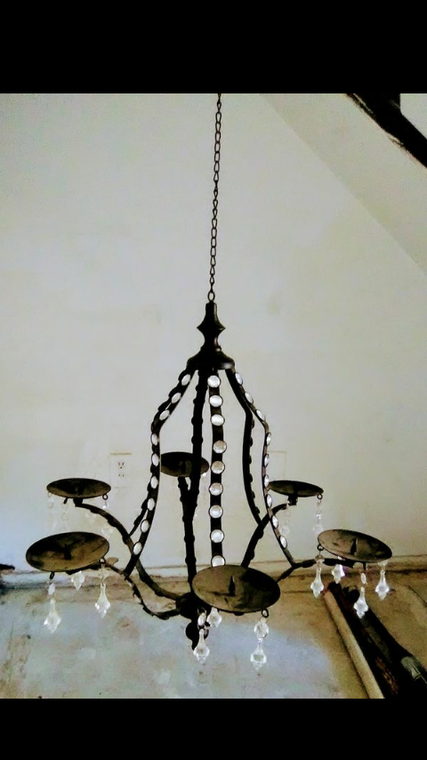 Hanging candle chandelier for sale in bakersfield ca offerup aloadofball Image collections