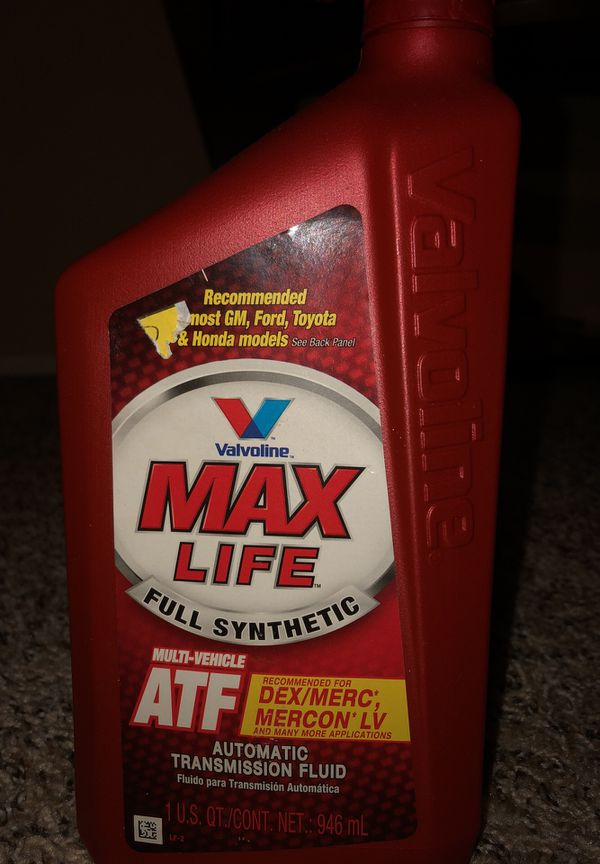 Maxlife Transmission Fluid