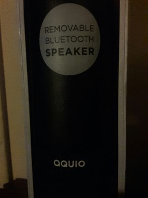 Aquio removable Bluetooth speaker/water bottle for Sale in Los Angeles, CA
