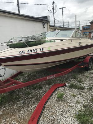 1986 Wellcraft 19' boat with trailer. for Sale in Columbus, OH