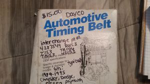 Dayco Automotive timing belt part number 95153 for Sale in Crewe, VA