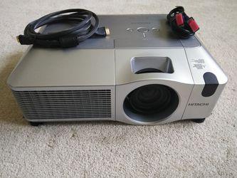 Hitachi projector Thumbnail