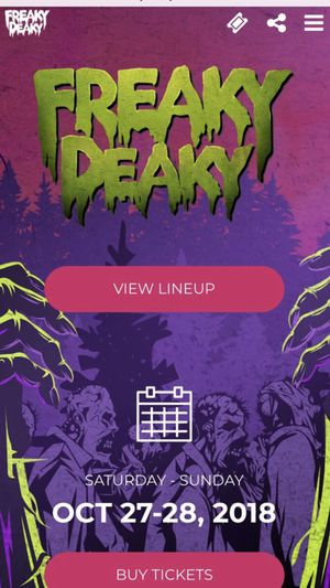 Freaky Deaky Tickets for Sale in Humble, TX