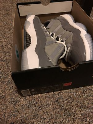 8e7707005bdcbf DS Nike Air Jordan Retro 11 XI low Cool Grey size 9 for Sale in Seattle