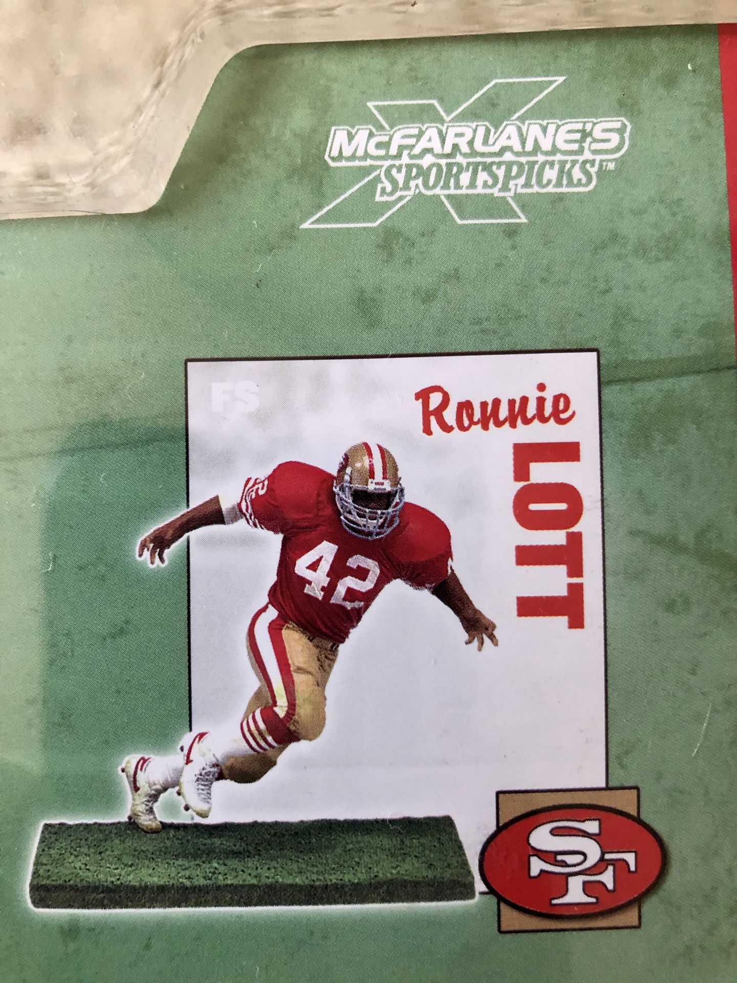 Ronnie Lott San Francisco 49ers McFarlane