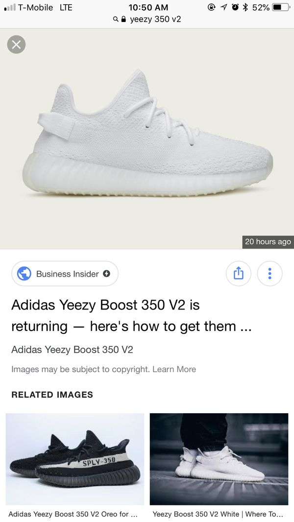 b2469e49047 Yeezy boost 350 v2 triple white for Sale in Oakland