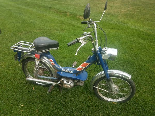 Scorpion Moped For Sale In Shakopee Mn Offerup