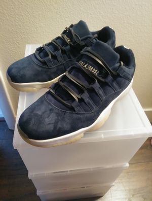 JORDAN 11 RETRO LOW DEREK JETER RE2PECT SZ 10 DS for Sale in North Chesterfield, VA