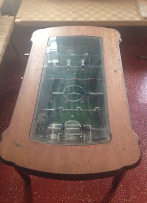 Very rare Foos ball glass table for Sale in Tampa, FL