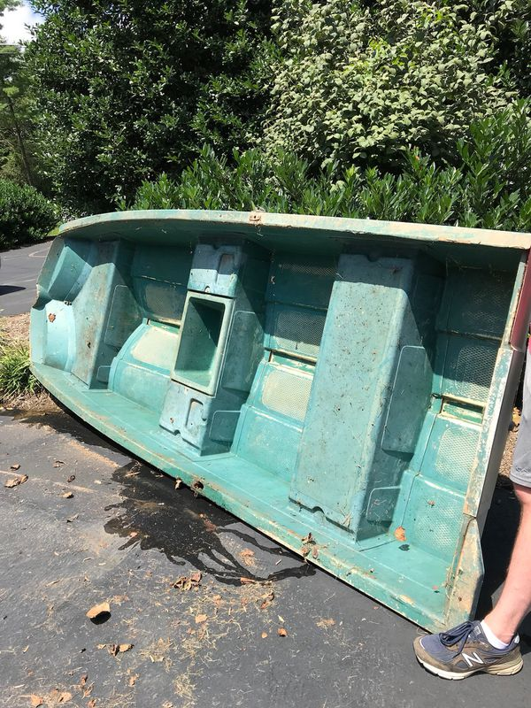 Sears Gamefisher 12 Ft Fiberglass Boat Needs Work For Sale In