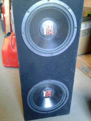 speaker subwoofer subs for Sale in Los Angeles, CA