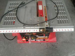 Tradesman 10 Inch Bench Table Saw for Sale in Deltona, FL