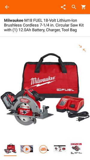 Brand new Milwaukee n Brushless Cordless 7-1/4 in. Circular Saw Kit for Sale in Washington, DC