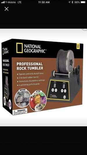 National Geographic Rock Tumblr For Sale In Modesto CA