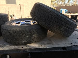 SET OF TWO CHEVY 265/70/17 for Sale in Laveen Village, AZ