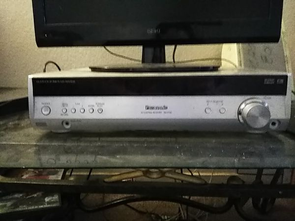 Panasonic Av control multi channel surround system, 15' Orion 600 watt  speaker and 600 watt car amp planet audio and 2 Fisher House speakers for  Sale