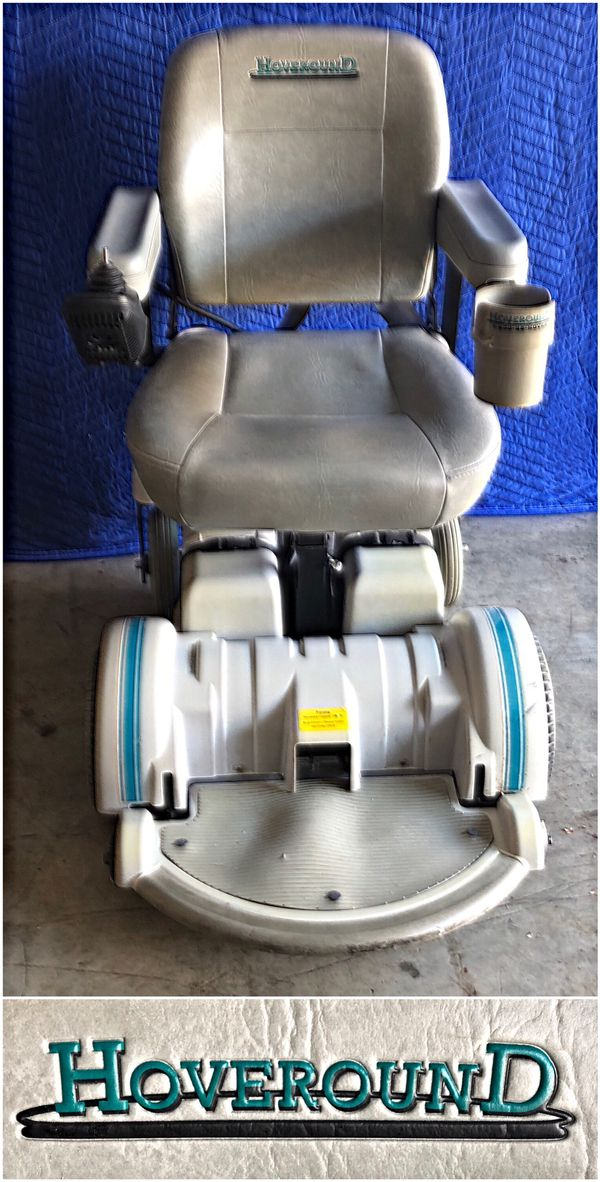 Hoveround Mpv5 Mobility Power Wheelchair Needs New Batteries