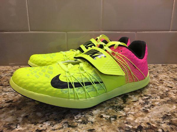 pretty nice 7ada6 ff404 New Nike Zoom TJ Elite Track Triple Jump Track Shoes Men s Size 11 882025- 999