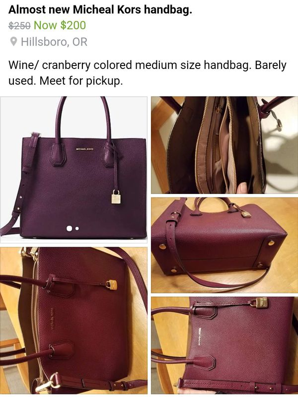 3e3e80226b20 Almost new Michael Kors handbag for Sale in Hillsboro, OR - OfferUp