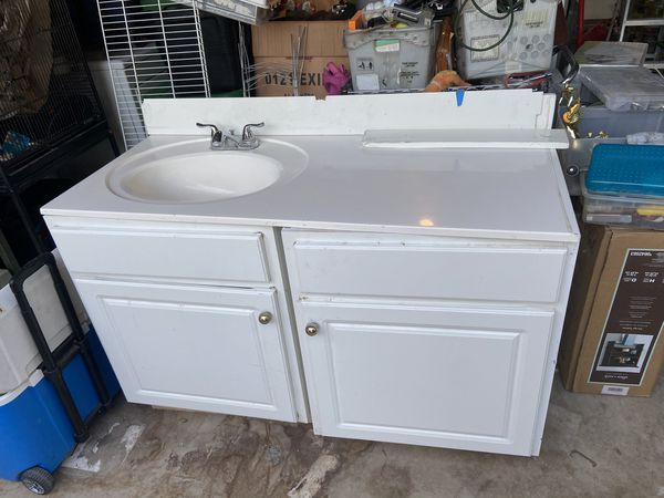 Bathroom vanity and cabinet for Sale in San Antonio, TX ...
