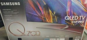 """Samsung QN65Q7C 65"""" QLED Curve 4K UHD HDR LED Smart TV 2160p (FREE DELIVERY) for Sale in Tacoma, WA"""