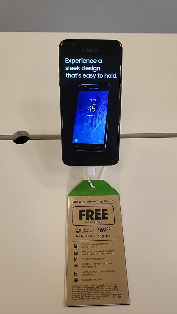 FREE Samsung Galaxy Amp Prime 3 for Sale in Weatherby Lake